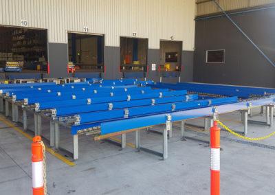 carousel conveyor system install_001