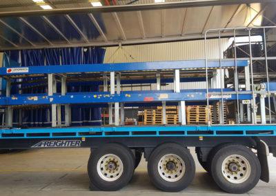 carousel conveyor system install_002