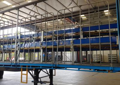 carousel conveyor system install_003