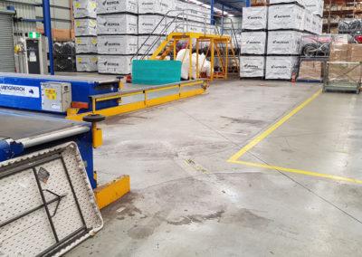 carousel conveyor system install_004