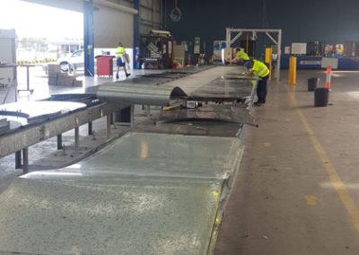 carousel conveyor system install_005