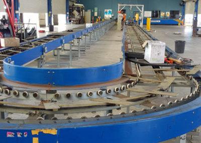 carousel conveyor system install_007