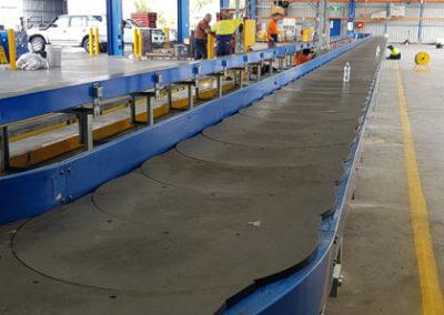 carousel conveyor system install_008