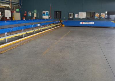 carousel conveyor system install_010