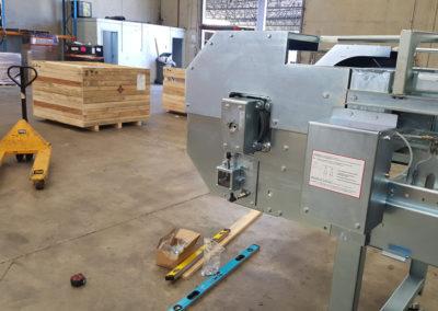 parcel sortation system install_003